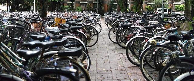 sonhar com muitas bicicletas