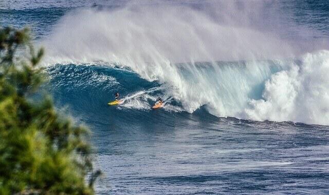 ondas gigantes