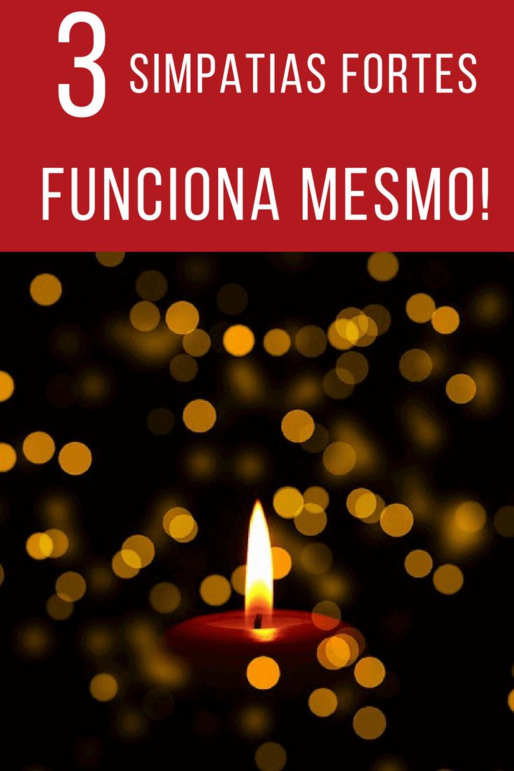 ▷ Simpatias Fortes 【FUNCIONA MESMO】