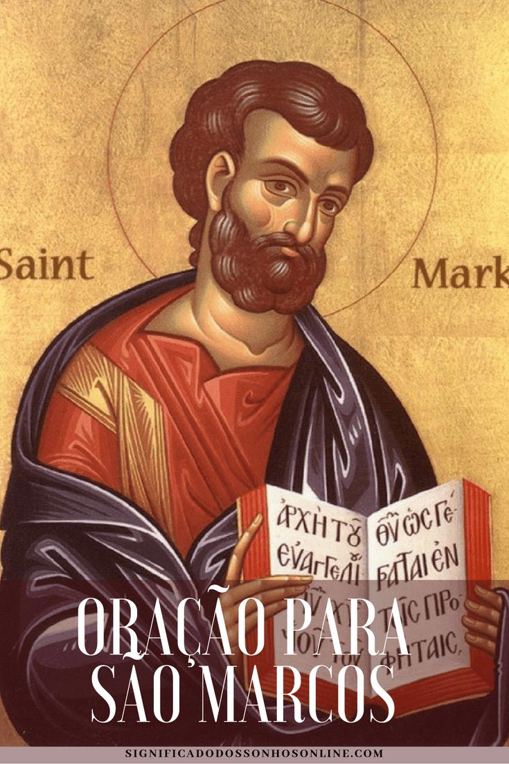 ▷ Oração para São Marcos