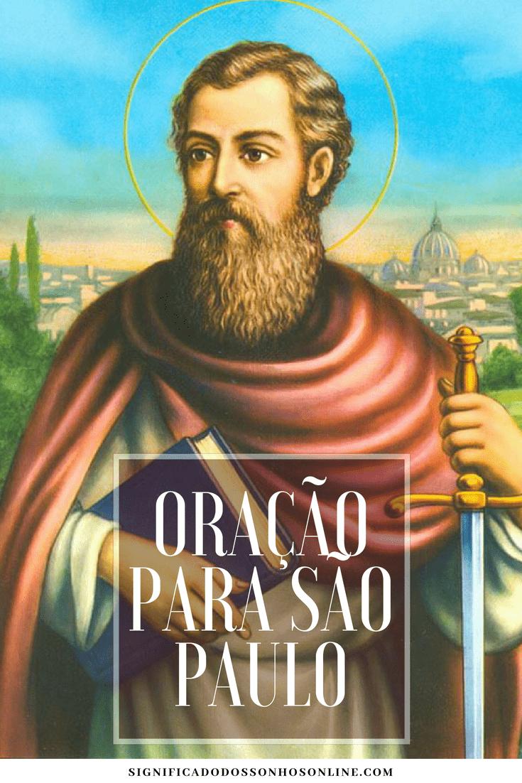 ▷ Oração para São Paulo