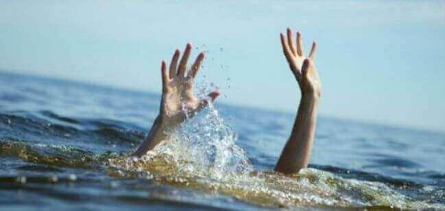 pessoa que se afoga