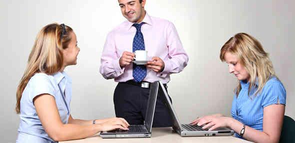 Relacionamento amoroso no trabalho