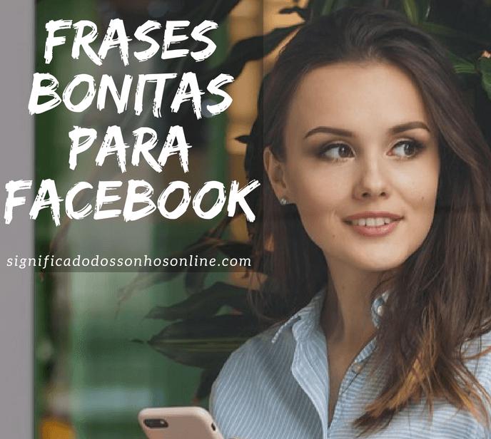 Frases bonitas para facebook