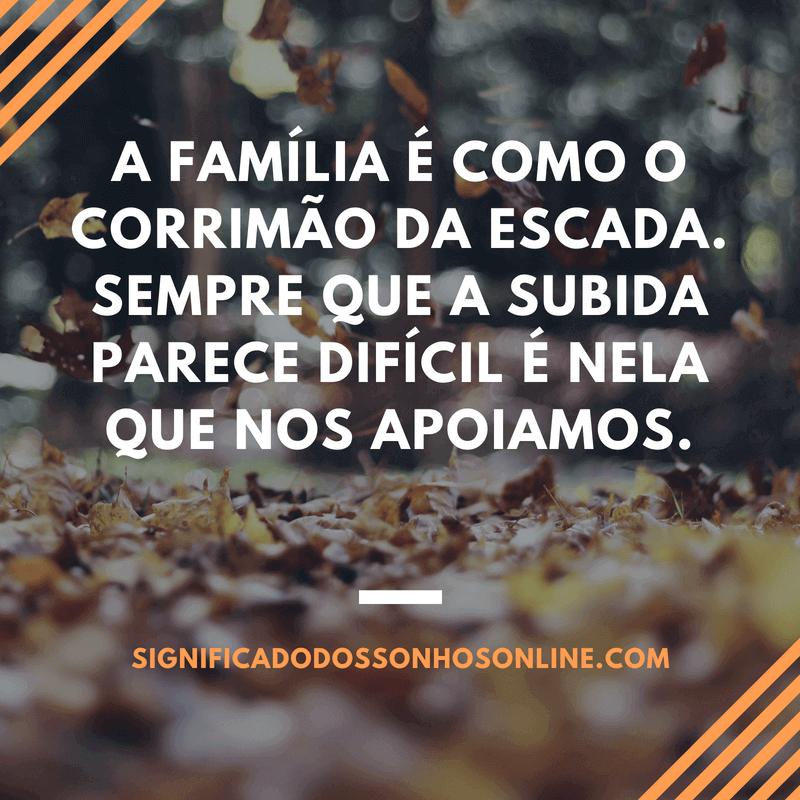 frase sobre a familia