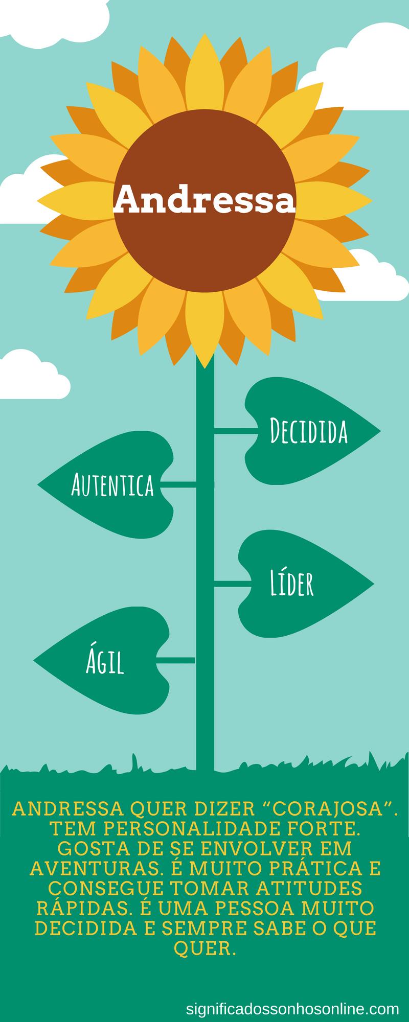 significado do nome andressa