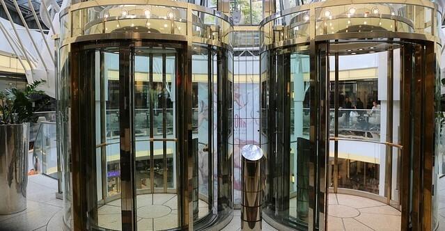 elevador de vidro