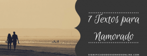 ▷ 7 Textos Para Namorado- Tumblr
