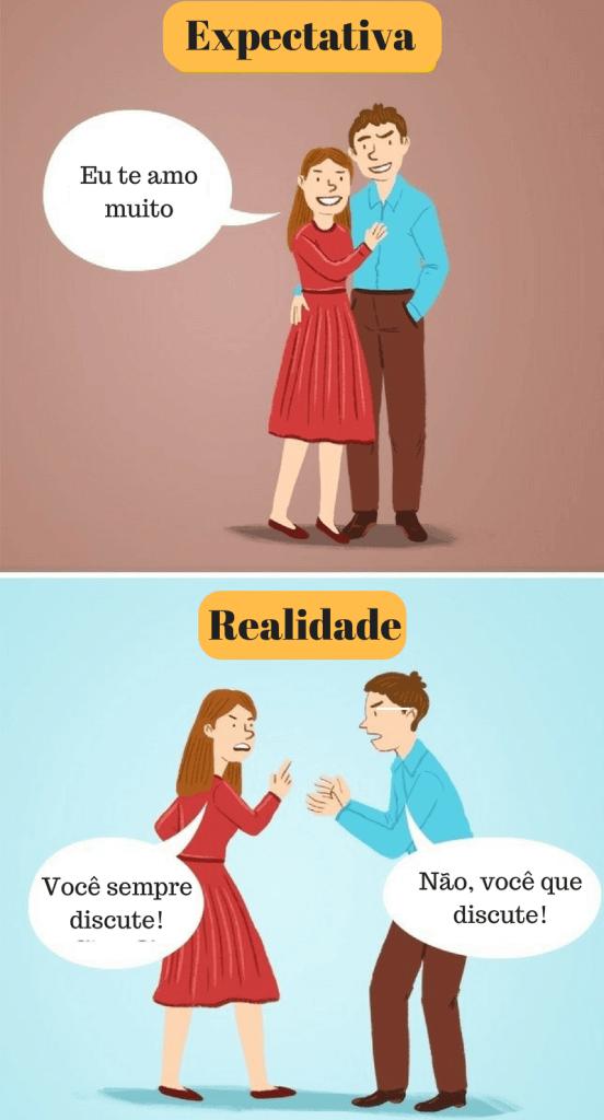 casais felizes também brigam