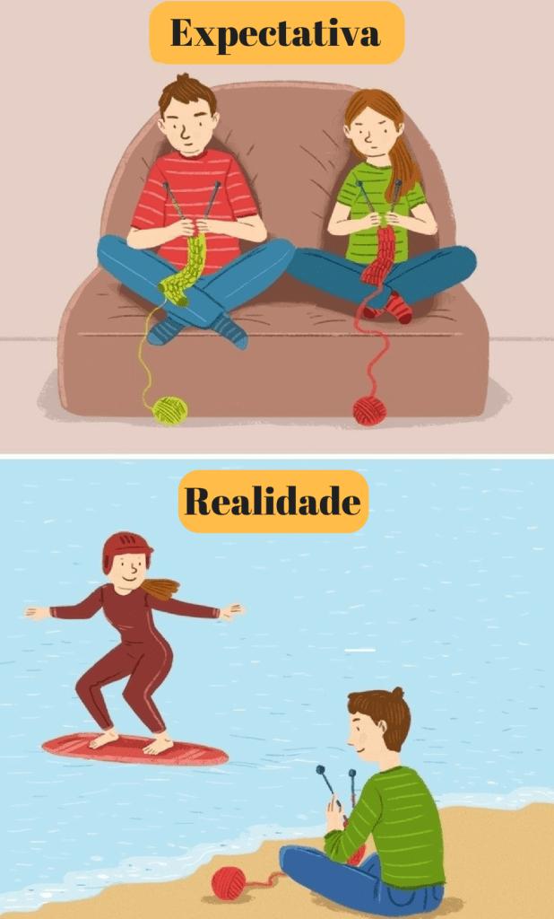 relacionamentos felizes não são perfeitos