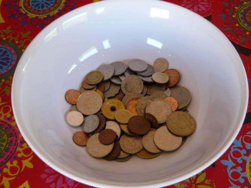 simpatia com moeda