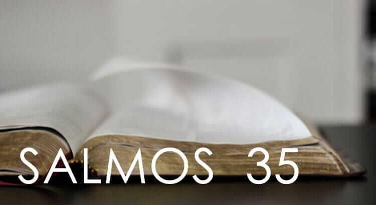Salmo 35 – Para se proteger de quem lhe deseja o mal