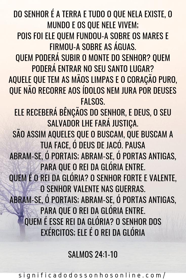 oração do salmo 24