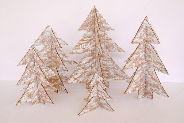 Como Fazer Uma Árvore De Natal De Papelão? – Passo a Passo
