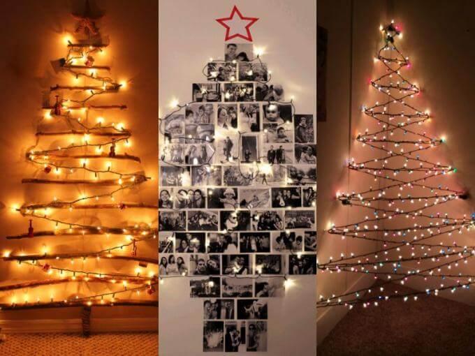 22 Ideias Originais Para a Sua Árvore De Natal – DIY