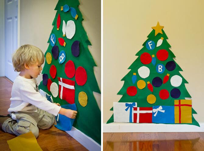 Por Que Você Deve Deixar Seus Filhos Fazer Suas Próprias Decorações De Natal