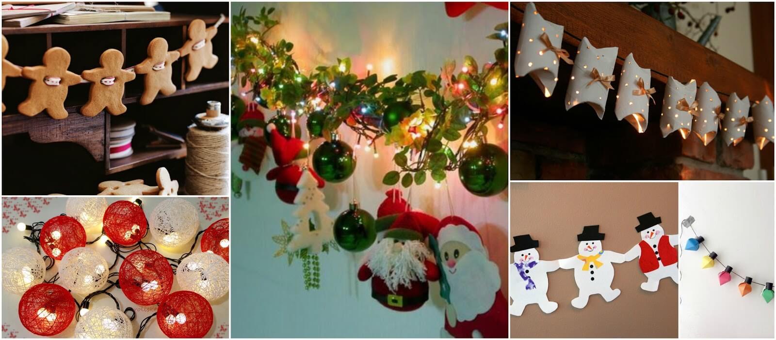Veja Como Fazer Guirlandas De Natal – Passo a Passo