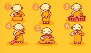 Escolha Um Monge Budista e Receba Uma Mensagem Poderosa!