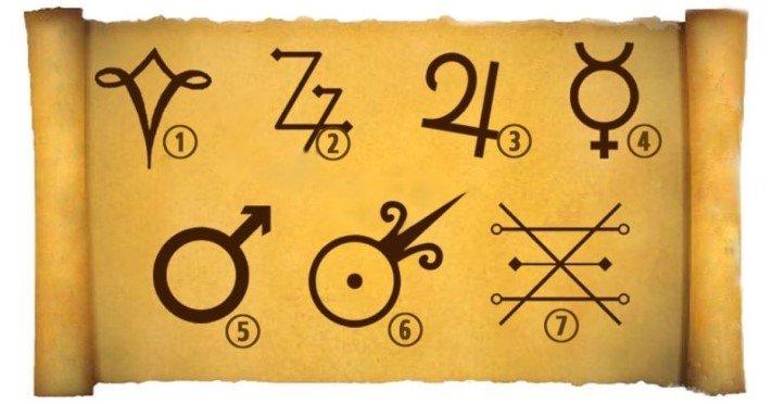 Escolha Um Símbolo Alquimista e Descubra o Atual Desafio Da Sua Vida