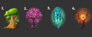 Escolha Uma Árvore Mágica e Ela Dirá Se Você Está Tomando Boas Decisões Em Sua Vida