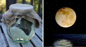 Prepare Água Da Lua Cheia Para Trazer Bênçãos à Sua Vida
