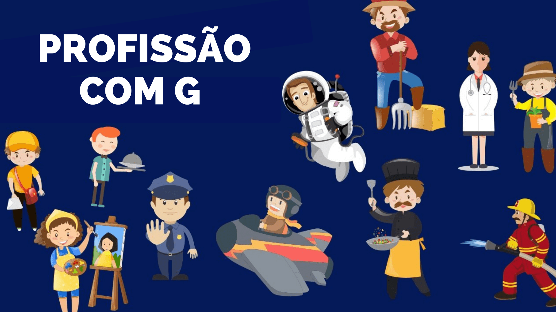 ▷ Profissões Com G 【Lista Completa】