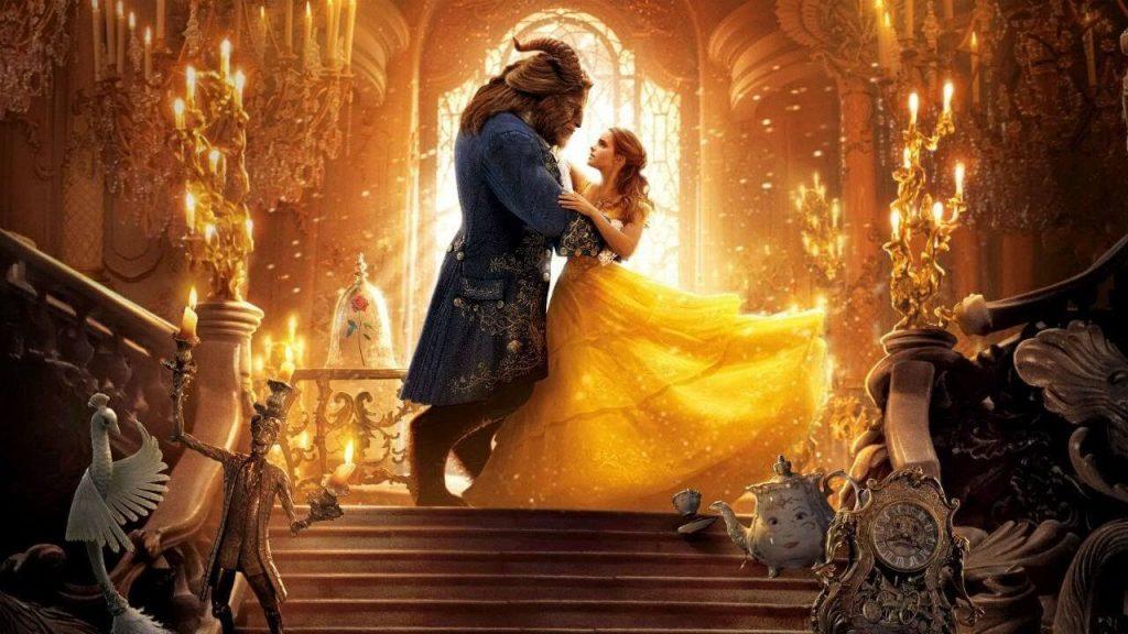 bela e fez dançando - cena do filme