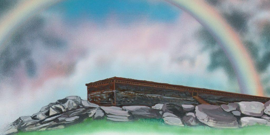 arco-íris desenho