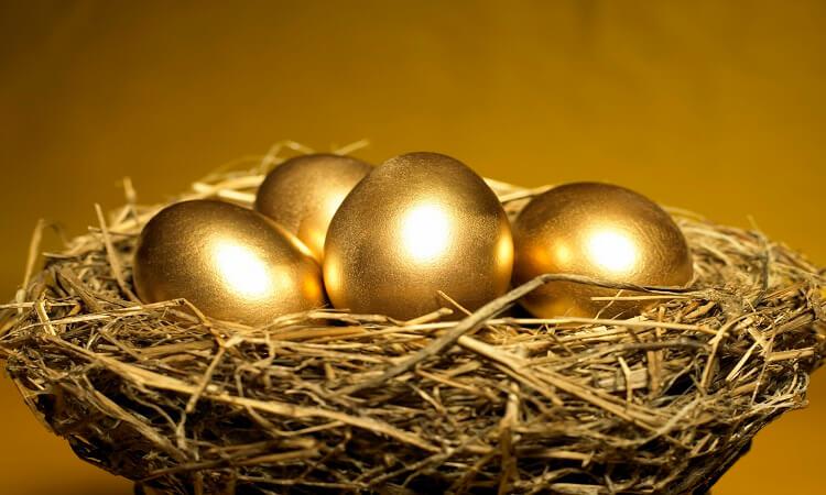 ovos de ouro de galinha
