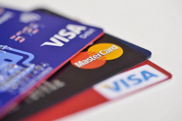 cartão de crédito visa e mastercard