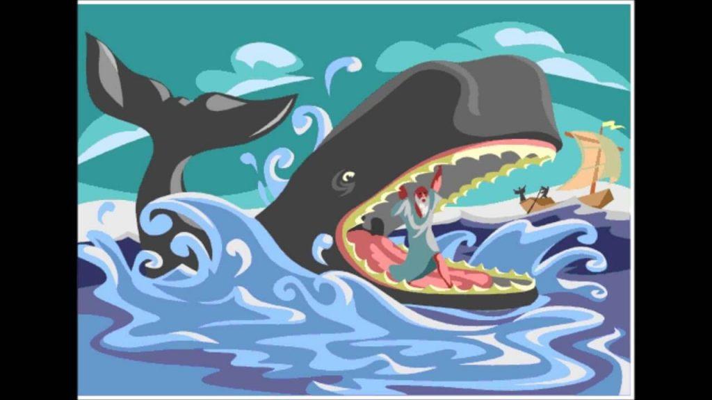 baleia engolindo jonas