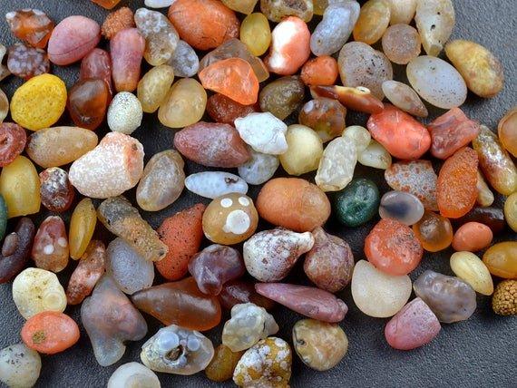 pedras coloridas ágata