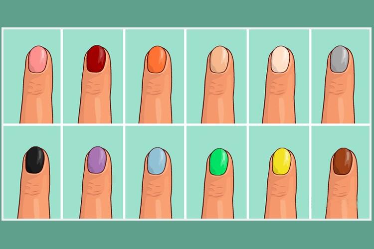 Escolha sua cor de esmalte preferida e descubra o que as pessoas pensam de você
