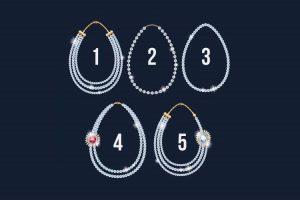 Escolha um colar e descubra sua qualidade mais atraente!