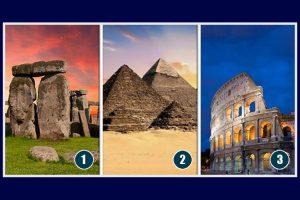 Escolha um dos monumentos arquitetônicos antigos e receba a mensagem que ele tem para você