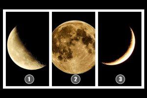Escolha uma lua e descubra a previsão para o seu futuro