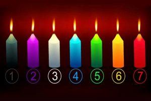 Escolha uma vela para saber que tipo de pessoa você é na vida