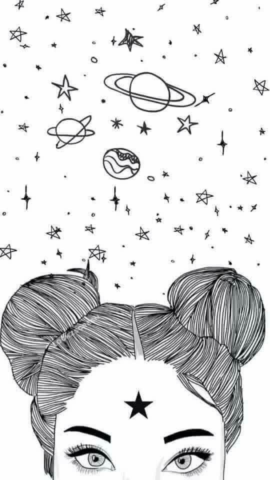 menina no mundo da lua
