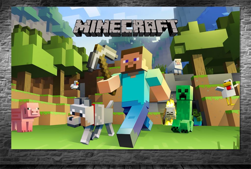 capa do jogo Minecraft