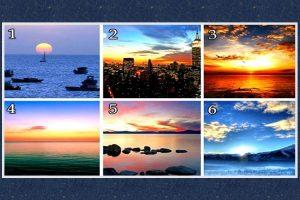 Escolha Um Pôr Do Sol e Vamos Descobrir Que Tipo De Vida Você Sonha