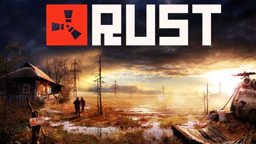 capa do jogo rust
