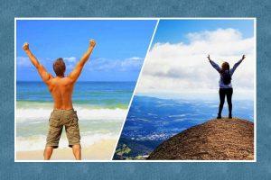 Você prefere montanhas ou praia? Sua escolha diz tudo sobre sua personalidade!