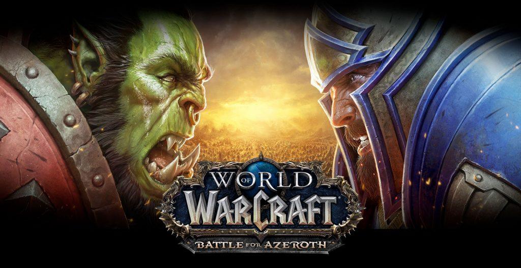 capa do jogo World of Warcraft