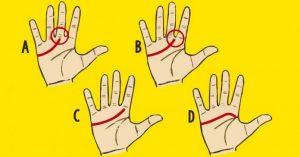 Olhe para a sua mão – Como é a sua linha do amor? Veja o que isso significa!