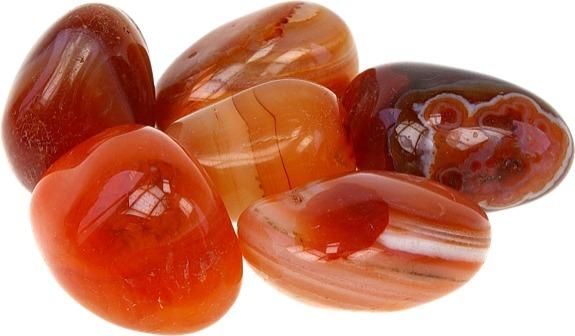 pedra laranja ágata