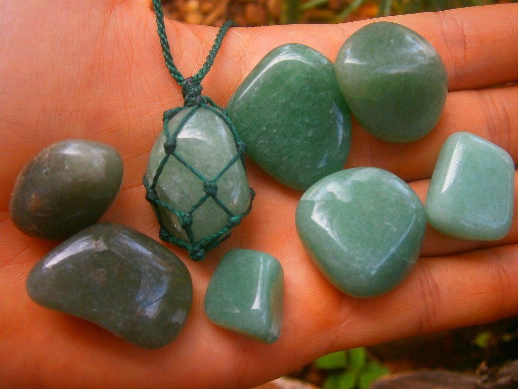 oito quartzo verde