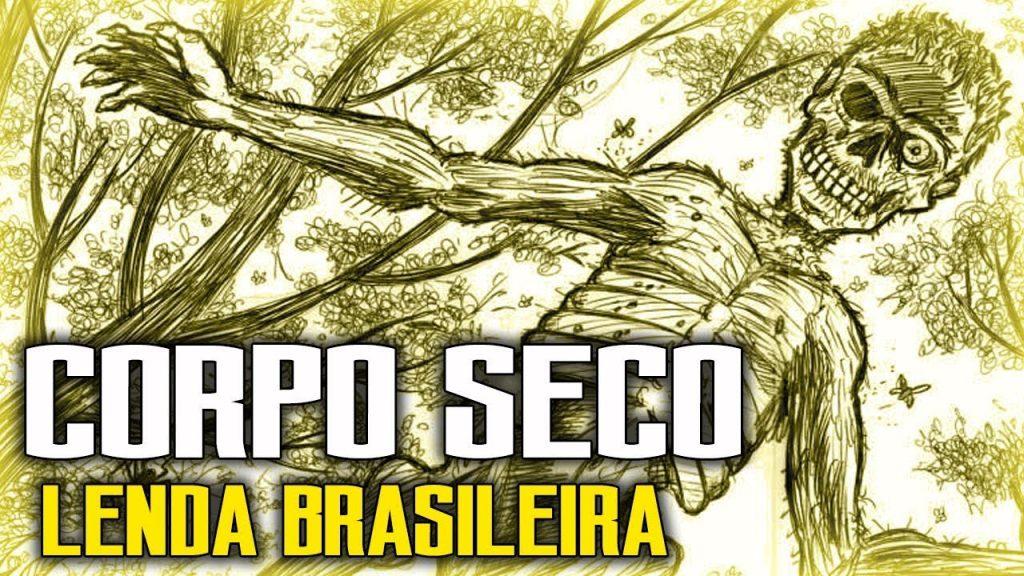 a lenda brasileiro do corpo seco