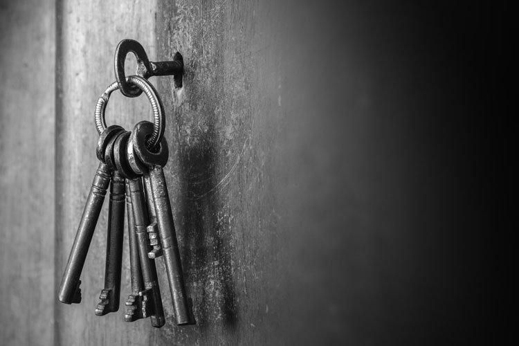 amuleto da sorte de chaves