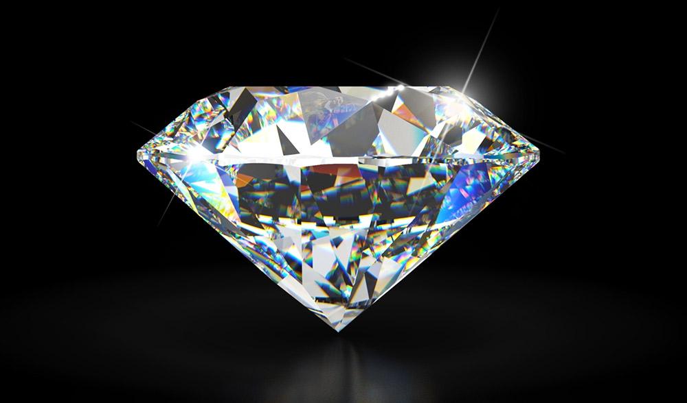 foto da pedra preciosa diamante