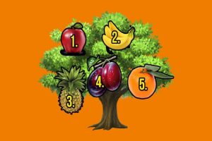 Escolha o fruto da sorte e descubra se o seu desejo se tornará realidade este ano!